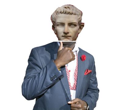 Caligula photoshopped. He loved it I think