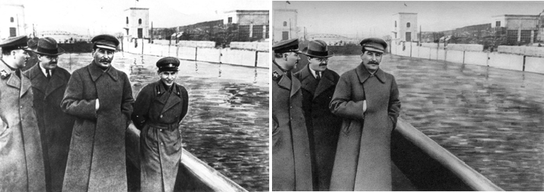 An example of manipulated propoganda under Stalin