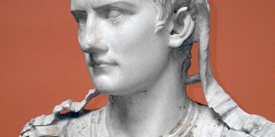 The Roman Emperor Caligula. Ny Carlsberg Glyptotek. Uploaded to Wikipedia by: Louis le Grand