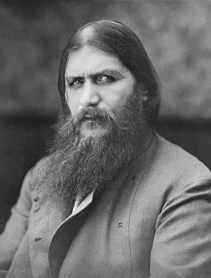 Grigory Yefimovich Rasputin (1869-1916). Unknown author and unknown date. Source: Wikipedia
