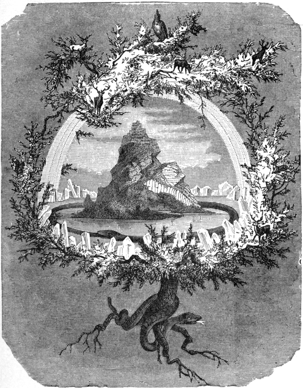 The Yggdrasil branches hold the world