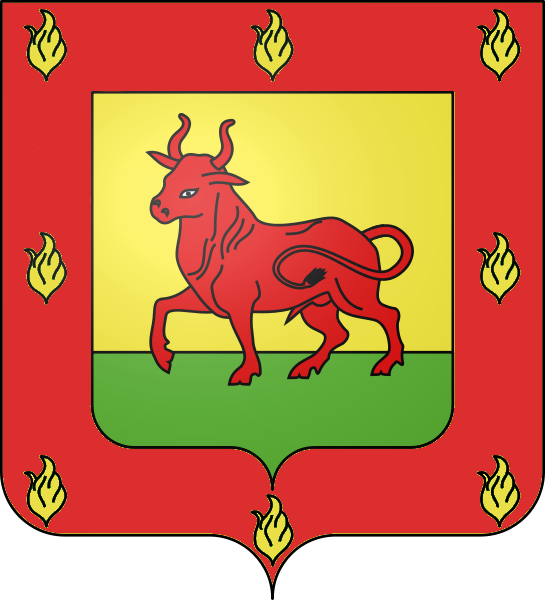 Cesare Borgia's plain Coat of Arms