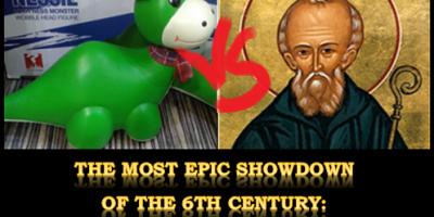 Saint Columba vs the Loch Ness monster