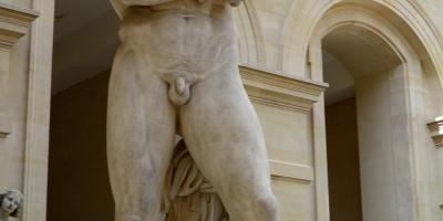 Spartacus, marble sculpture of Denis Foyatier (1830), Louvre Museum. Picture by Carole Raddato. Source: Flickr
