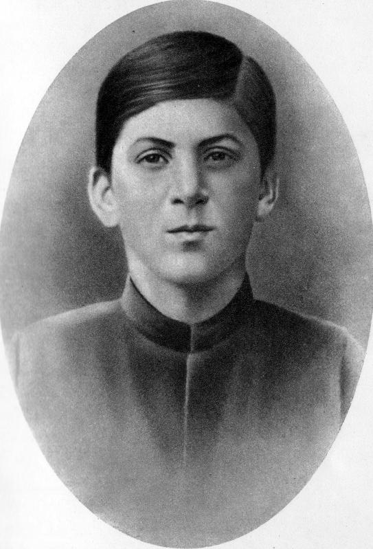Young Stalin appearing somewhat arrogant