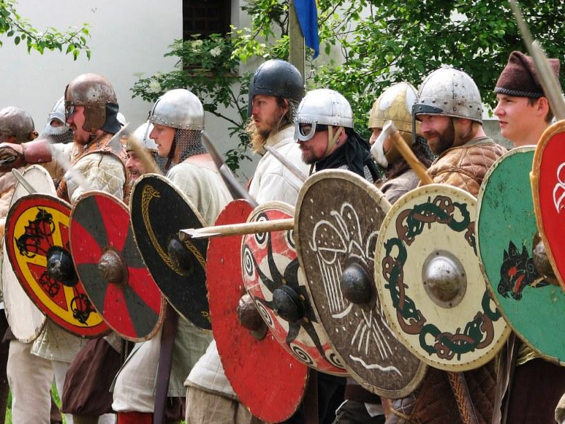 Shield Wall! Picture by Hans Splinter. Taken from Flickr