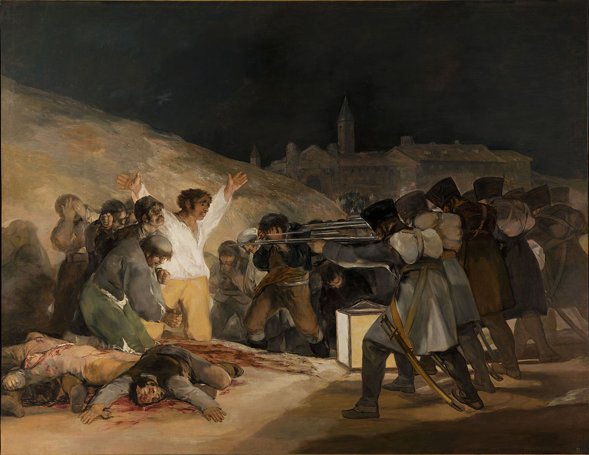 French soldiers execute civilians