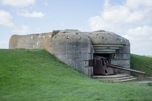 Today numerous bunkers from the Atlantic wall endure the pass of time
