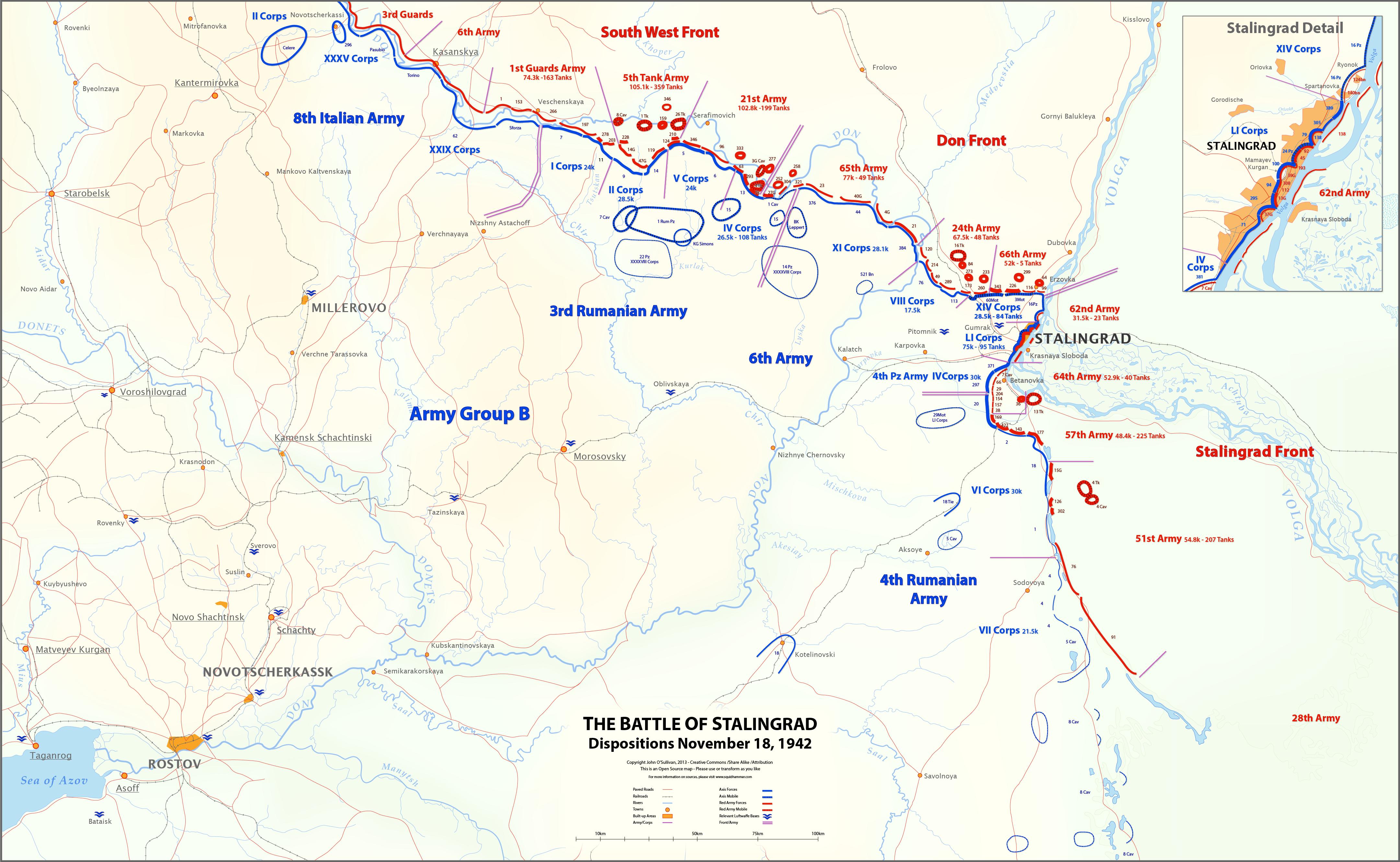 Front line. November 18, 1942