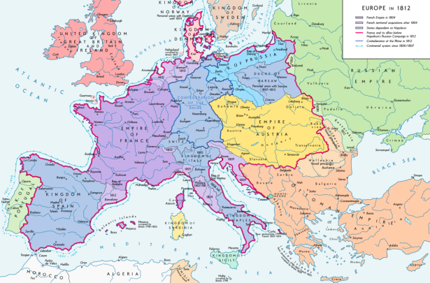 Europe 1812