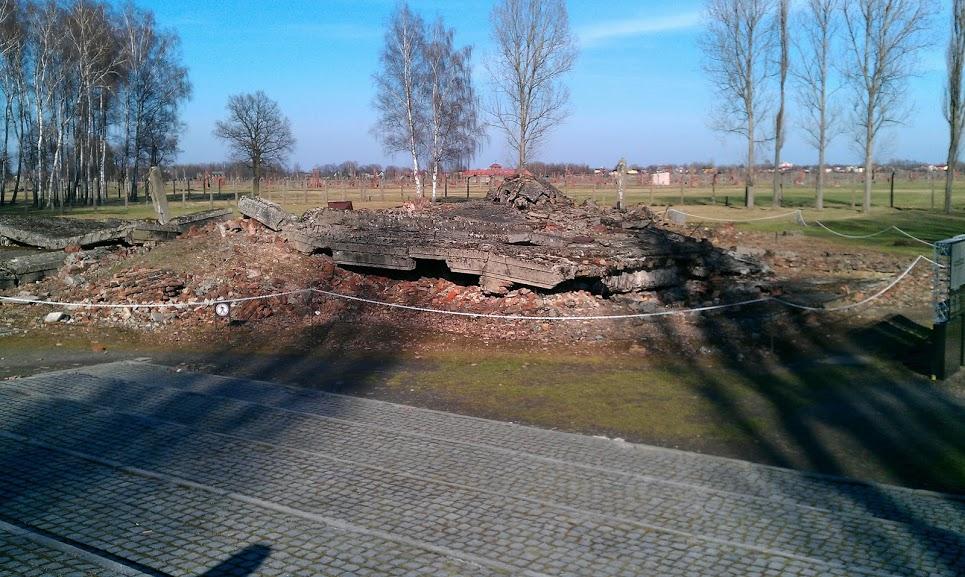 A blown-up Crematorium