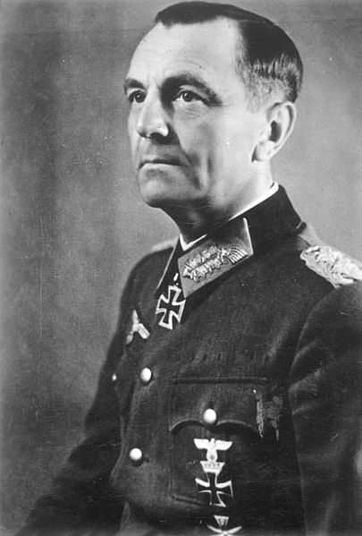 Friedrich Paulus. Picture taken before the mess he was handled in Stalingrad