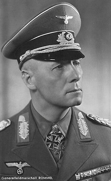 Erwin Rommel, the Desert Fox. He was equally respected by both Germany and the Allies. He was forced by the Nazis to commit suicide, after being suspected of being involved in the 20th of July Plot to assassinate Hitler