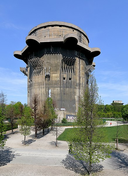 Vienna's Flak Towers still stand to the day