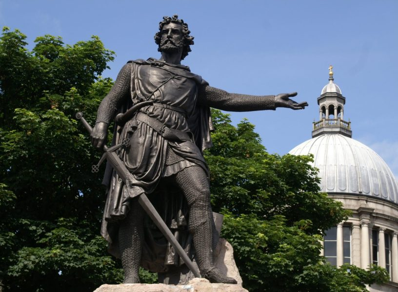 William Wallace's statue in Aberdeen